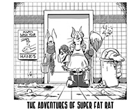 Comic - The Adventures of Super Fat Rat Issue - 00