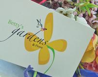 Branding - Betty's Gardens