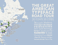 THE GREAT AMERICAN TYPEFACE ROAD TOUR // FUN