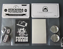 Poppin Fresh Sticker and Buttons Pack