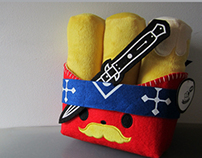 Chunky Fries Plush Toy