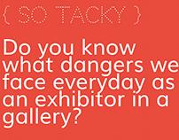 SO TACKY Exhibition Installation Guide
