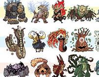 Pokemon design for Majorspoilers article