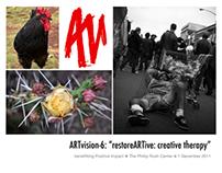 """[ARTvision-6] """"restoreARTive: creative therapy"""""""