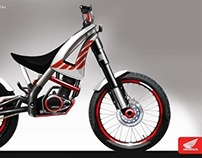 Honda motorcycle sponsored project