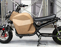 Electric Zoomer - electric motorcycle conversion.