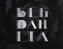 Blk Dahlia - A Modern & Feminine Display Typeface