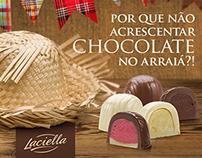 Publicação Facebook - Chocolates Laciella