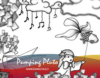 Pumping Pluto's Hanggang Dulo (Album, Gig Poster)