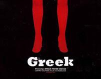 Afiche Greek