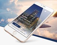 Flyzar App Mock up