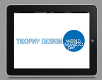 World Bamboo Day trophy design