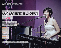 Up Dharma Down Flyer