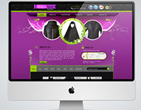 Abaya Noir Stores Website Design