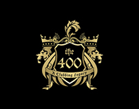 THE 400 NIGHT CLUB CORPORATE IDENTITY