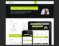 Multi-purpose Responsive Template for Businesses