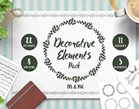 Decorative Elements Pack (80% OFF)