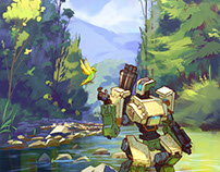 Overwatch : Bastion
