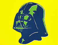 Real silk screen | Darth Vader