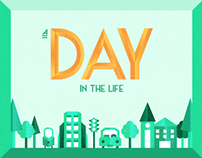 A day in the life - Icon Set