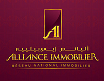 Alliance Immobilier branding