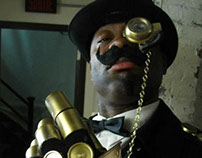 The Baron, a Steampunk Halloween