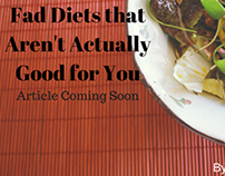 Fad Diets that Aren't Actually Good for You--Preview