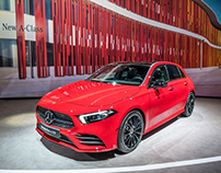 NY Auto Show - Large-format prints for Daimler