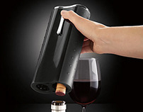 Brookstone Automatic Wine Opener and Foil Cutter
