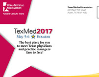 Texas Medical Association 2017 EXPO mailer