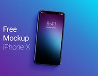 Free Mockup iPhone X