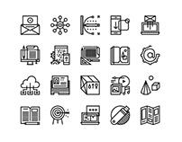 Black Line Icons