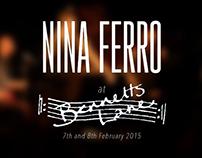 Nina Ferro - Live at Bennetts Lane, Melbourne