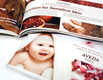 AVEDA Baby (Website + Print)