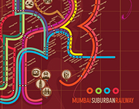 Mumbai Suburban Railway Map Redesign