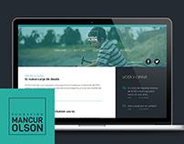 Website Fundación Mancur Olson