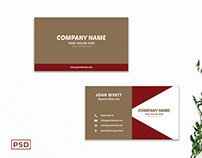 Free Innovative Business Card Template V5