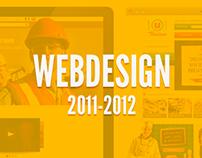Web Design Portfolio 2011 - 2012