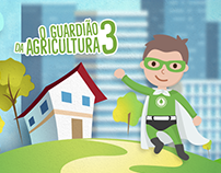 O guardião da Agricultura 3 e Cozinhando com 3 caras