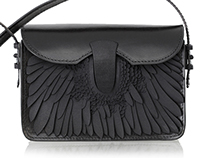 Swan Chimera pattern for Fierce Forms clutch bag