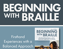 Beginning with Braille Web ads