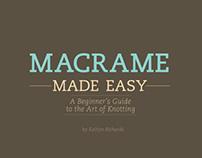 Macrame Made Easy