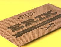Letterpressed Calling Cards
