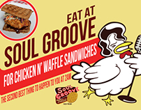 Soul Groove Chicken & Waffles
