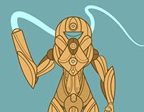 Samus Aran (Metroid) redesign