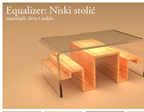 "Coffee table ""Equalizer"""
