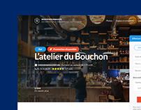 Reserverunbar.fr - UI/UX Website redesign