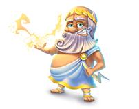 Characters Zeus