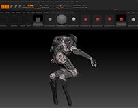 Exodus cyborg concept art