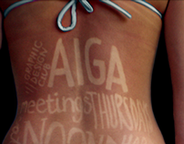 AIGA Promotional Poster